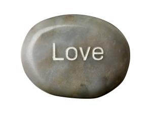love on grey soap
